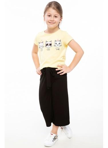 DeFacto Genç Kız T-shirt Sarı